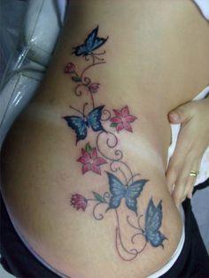 borboleta cintura
