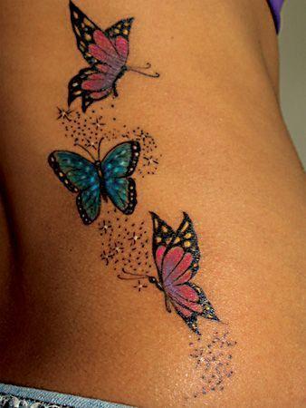 borboleta tronco